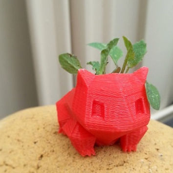 Bulbasaur Planter Pot 3D Printed