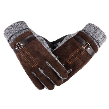 Warm Non-slip Thicken/  for Driving, Skiing, Hiking, Cycling ,Golf, or  Hunting Gloves