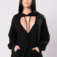 Tough Lady Tunic - Black