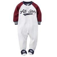 Carter's ''All-Star'' Baseball Sleep & Play - Baby Boy, Size: