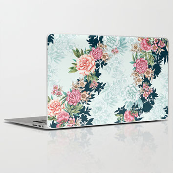Painted Floral Laptop & iPad Skin by Gemma Hodgson Design