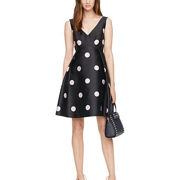 Kate Spade Spotlight V-Neck Dress Ink