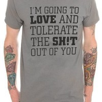 Love And Tolerate T-Shirt 2XL