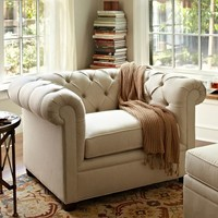 Chesterfield Upholstered Armchair