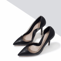 VINYL HEEL COURT SHOE
