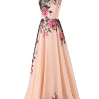 Grace Karin Pinup Vintage Rockabilly Evening Gown Long WEDDING Party Bridesmaid Prom Dresses = 4807075204
