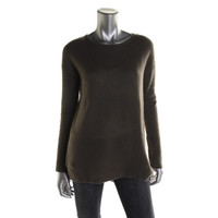 Autumn Cashmere Womens Cashmere Long Sleeves Pullover Sweater