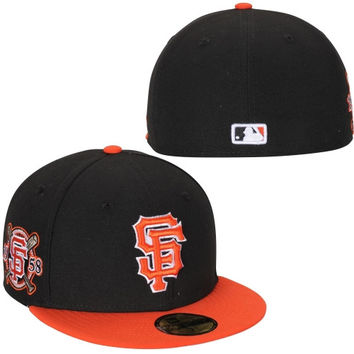 San Francisco Giants New Era Physical Fitter 59FIFTY Fitted Hat – Black