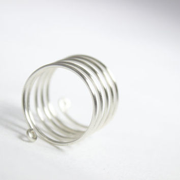 Five Stack Rings - Spiral Ring