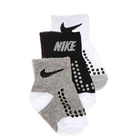 Nike Baby Boy's Socks 3 Pair Pack (6-12 Months)
