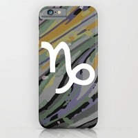 Capricorn iPhone & iPod Case by KJ Designs