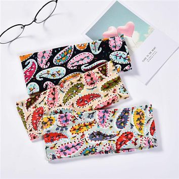 Haimeikang Women Wide Side Stripe Dot Printed Cross Elasticity Hair Band Headbands Retro Turban Bandage Bandana Hair Accessories