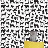 Dog Frenzy Removable Wall Paper