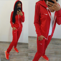 Nike Hoodies Hot Sale Casual Stylish Sports Set [9313880711]