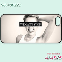 Phone Cases, iPhone 5 Case, iPhone 5S/5C Case, iPhone 4/4S Case, Phone covers, miley cyrus's style, smile, Case for iPhone-400221