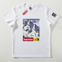 Cheap Women's and men's supreme t shirt for sale 85902898_0149