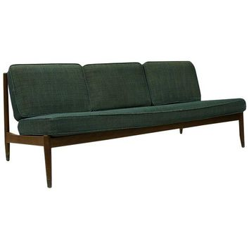 Pre-owned 1950s Danish Armless Sofa by Dux