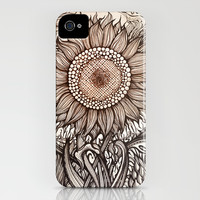 Sunflower iPhone & iPod Case by Irina Vinnik