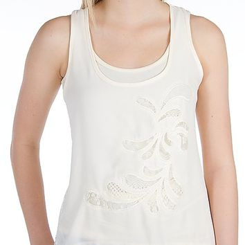 Eyeshadow Pieced Tank Top
