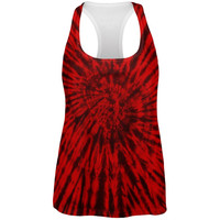 Metal Head Tie Dye All Over Womens Work Out Tank Top