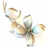Flower Brooch Retro Jewelry Mother's Day Gift Vintage Jewelry