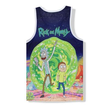 Rick and Morty Tank Tops