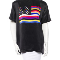 Givenchy Silk American Dream T-Shirt w/ Tags