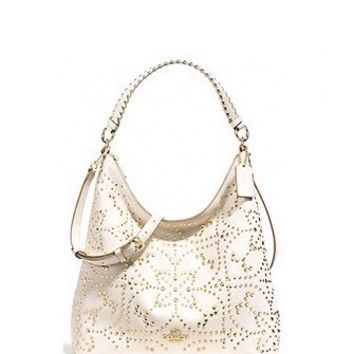 Coach Celeste Convertible Hobo In Mini Stud