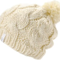 Coal Girls Rosa Creme Pom Beanie