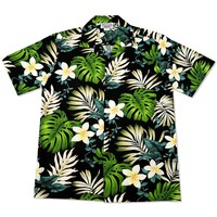 amazon black hawaiian cotton shirt