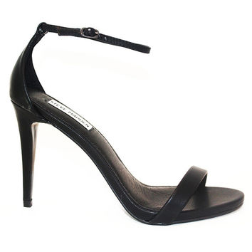 Steve Madden Stecy - Black Stiletto Sandal