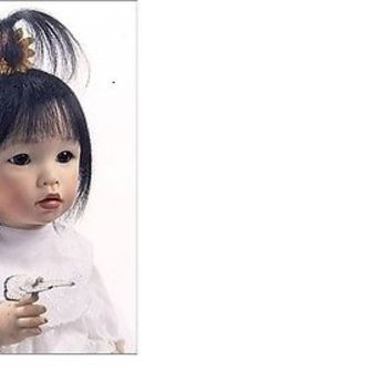 BELLA BAMBINA 125 SMALL HAIKU DOLL FACE HEAD Frances Lynne Ceramic Casting Porce