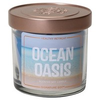Signature Soy Fresh Container Candle BLU : Target
