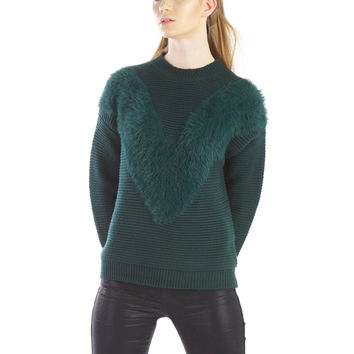 Emerald Sweater by J.O.A.