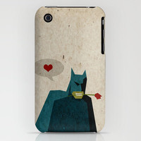 Batman - Love is Like War... iPhone Case by ▲ Bright Enough | Society6