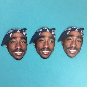 2pac Sticker Set