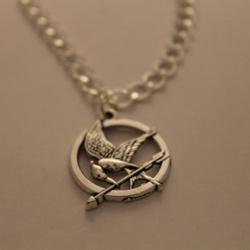 Hunger Games inspired Mockingjay Pin Bracelet