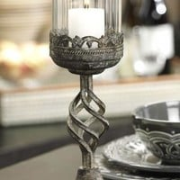 Lyon Antique Metal Candle Holder - Candles & Candleholders -  Home Accents -  Home Decor | HomeDecorators.com