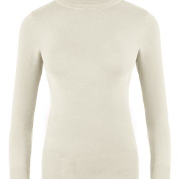 Simlu Long Sleeve Turtleneck Sweater