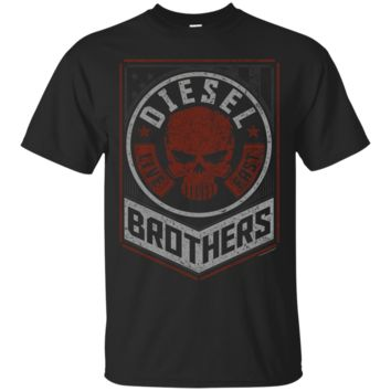 Diesel Brothers Live First Skull Propaganda Graphic T-Shirt