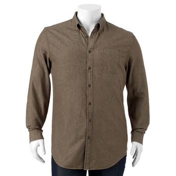Croft & Barrow Denim Button-Down Shirt - Big & Tall