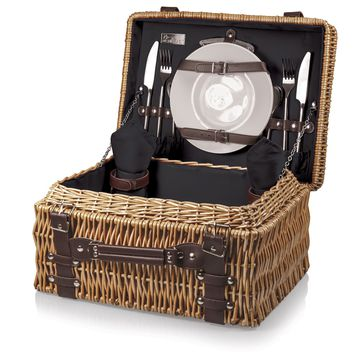Champion Picnic Basket in Black