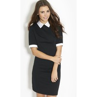 Ribbon Collar Dress