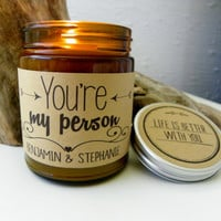 Youre My Person Soy Candle Romantic Gift Best Friend Gift Greys Anatomy Scented Candle BFF Gift Valentines Day Gift for Husband Holiday Gift