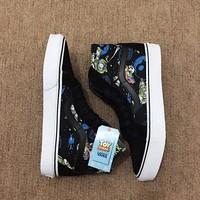 Trendsetter Vans x Disney High-Top Flats Sneakers Sport Shoes