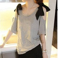 Blouse-Grey