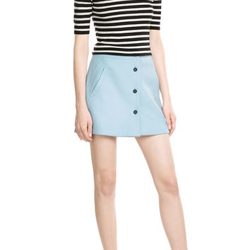 Wool Mini Skirt - Paul & Joe | WOMEN | US STYLEBOP.COM