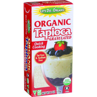 Let's Do Organics Tapioca Granules - Organic - 6 oz - Case of 6