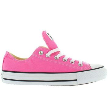 DCCKHD9 Converse All-Star Chuck Taylor Lo - Pink Canvas Low-Top Sneaker