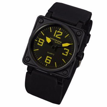 Military Square Face Watch